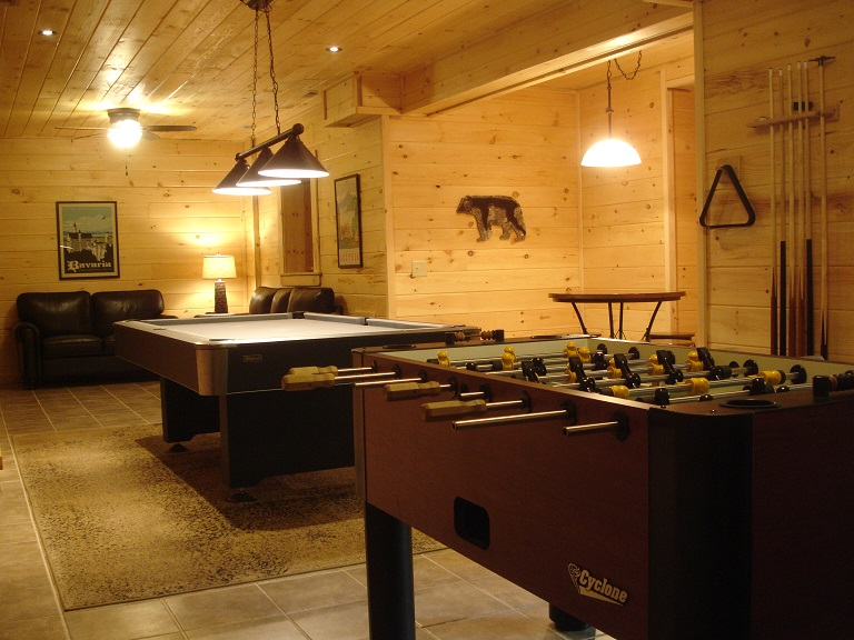 Black Forest Chalet Entertainment room game room