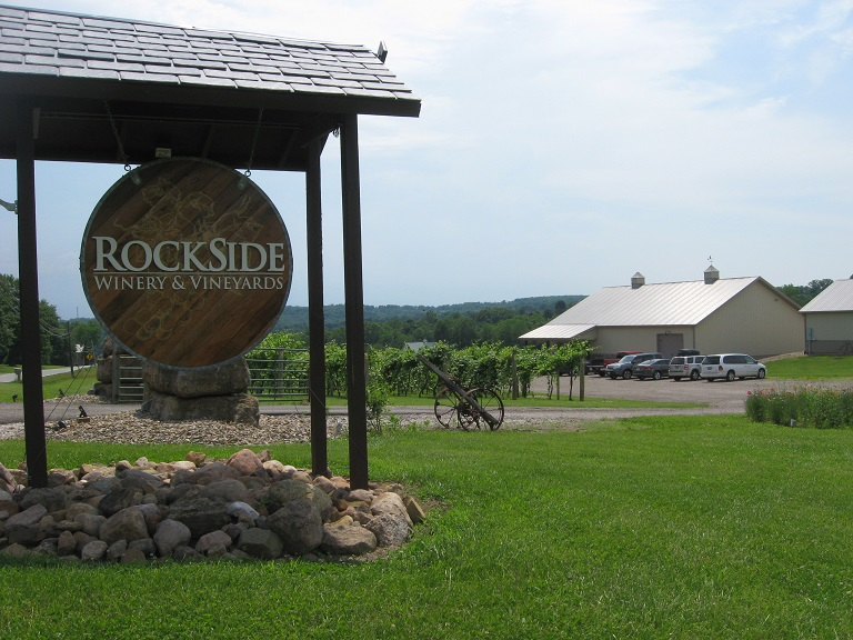 Rockside Winery and Vineyards. Lancaster, Ohio